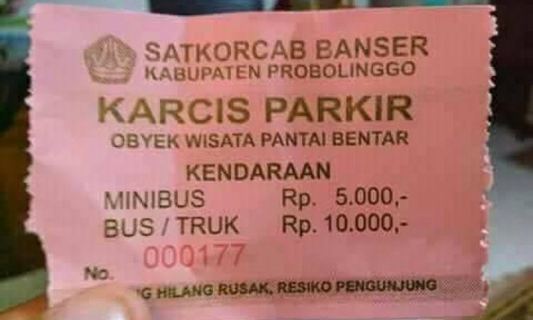 Karcis parkir