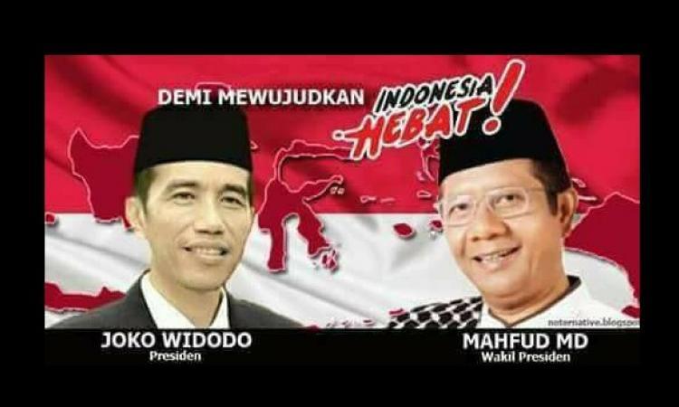 Hasil gambar untuk foto jokowi dan mahfud md