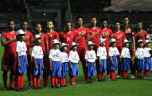 Timnas Indonesia saat Final vs Thailand leg 1