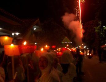 Malam Takbiran di Cirebon