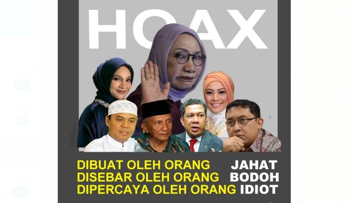 hoax RS dan gerombolan