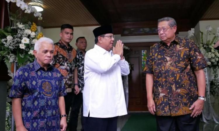 Image result for prabowo sby takziyah