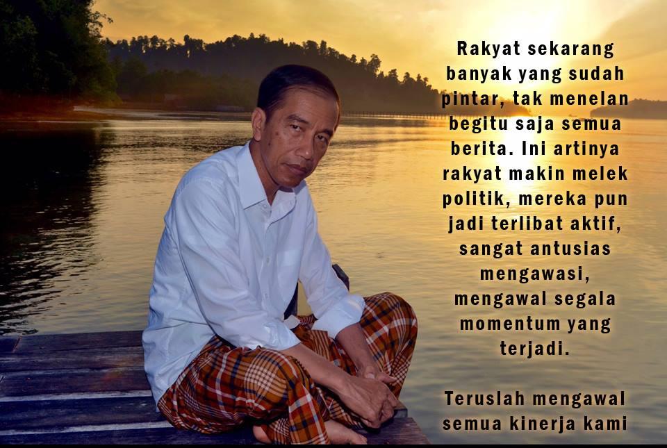 Jokowi dan melek politik