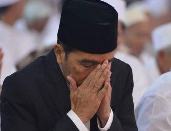 jokowi berdoa