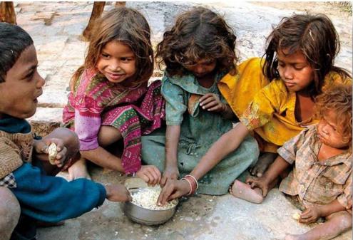 kemiskinan india