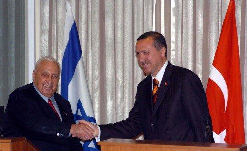 erdogan ariel sharon