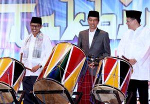 Presiden Takbiran di Padang
