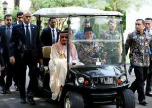 raja salman dan presiden