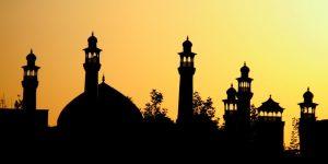 masjid siluet