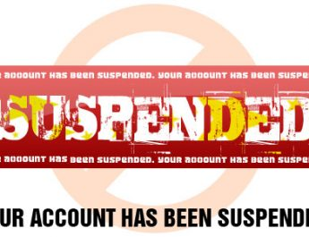 suspended