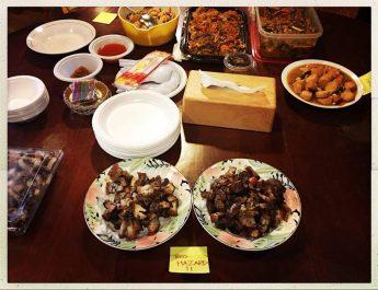 hidangan natal