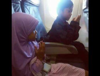 doa di pesawat