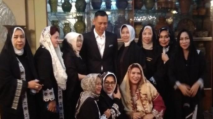 AHY dan keluarga Soeharto