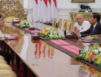 zaky bertemu presiden