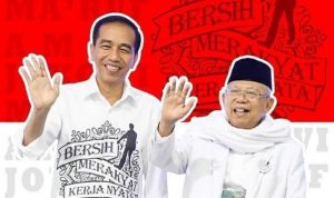 Jokowi Ma'ruf dadah