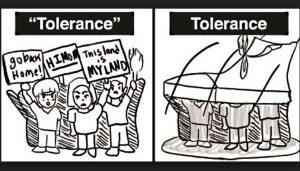 intoleran toleran