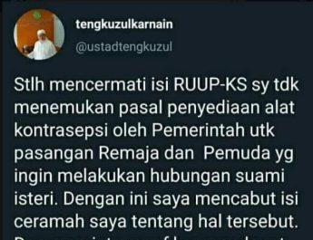 twit tengku zul