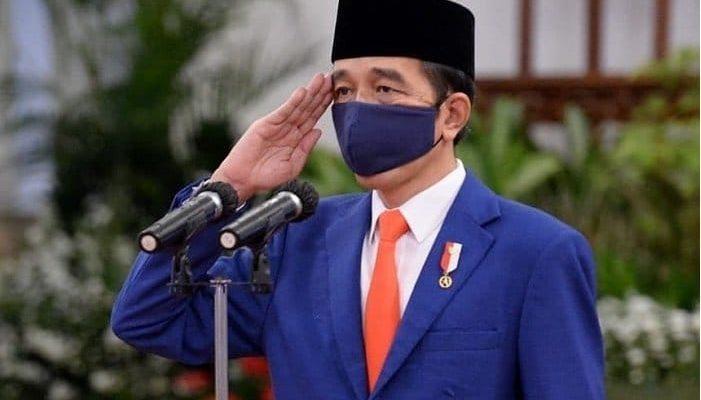 presiden jokowi masker