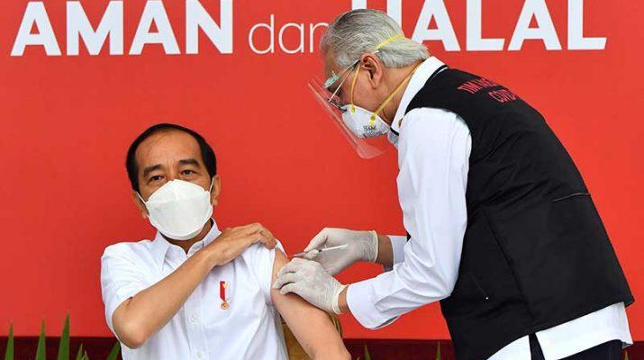 presiden vaksin